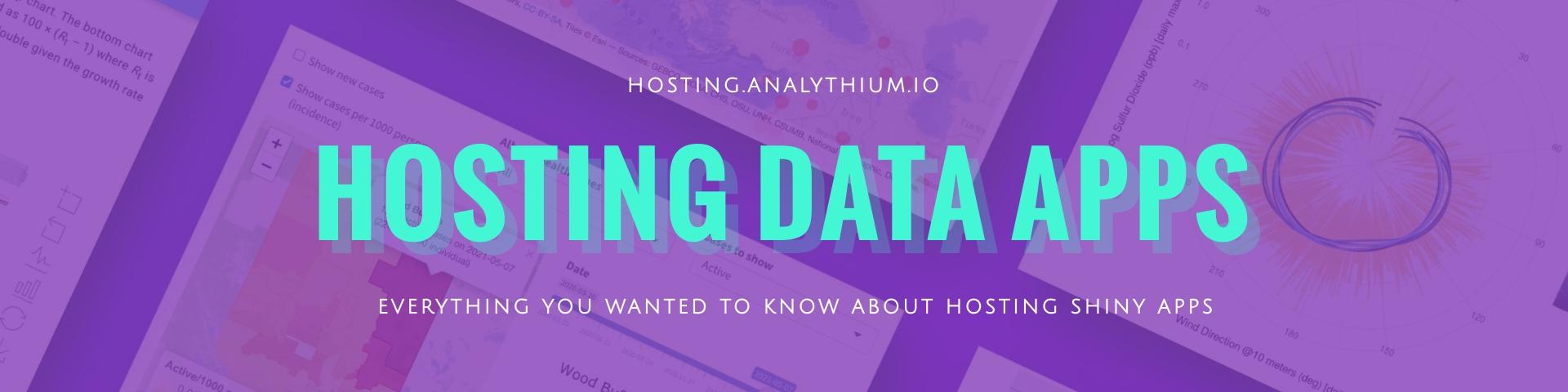 Hosting Data Apps